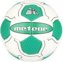Meteor Piłka Ręczna Magnet biało zielona r. 3 (04075)