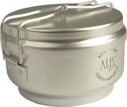 Menażka Aluminiowa 2-częściowa (garnek+rondel) (0610)