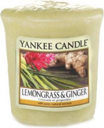 Yankee Candle Classic Votive Samplers świeca zapachowa Lemongrass & Ginger 49g