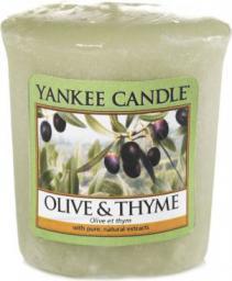Yankee Candle Classic Votive Samplers świeca zapachowa Olive & Thyme 49g
