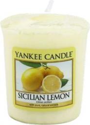 Yankee Candle Classic Votive Samplers świeca zapachowa Sicilian Lemon 49g