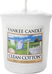 Yankee Candle Classic Votive Samplers świeca zapachowa Clean Cotton 49g