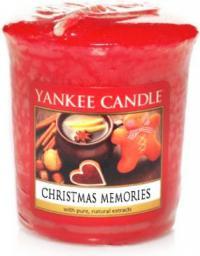 Yankee Candle Classic Votive Samplers świeca zapachowa Christmas Memories 49g