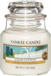 Yankee Candle Classic Small Jar świeca zapachowa Clean Cotton 104g