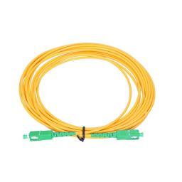 ExtraLink Patchcord światłowodowy SM, SC/APC - SC/APC, 15m, żółty (ex.2817)