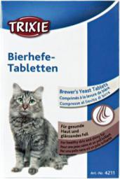 Trixie Tabletki z drożdżami piwnymi dla kotów, 50 g