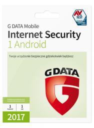 Gdata Internet Security for Android, 1 rok, 1 użytkownik  (090017)