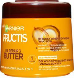 Garnier Fructis Oil Repair 3 Butter maska do włosów suchych i zniszczonych 300ml