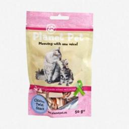 PLANET PET PLANET PET KOT 30g prz.CHICK.FISH TWIST