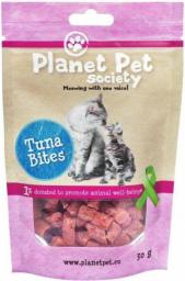 PLANET PET KOT 30g przys.TUNA BITES
