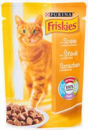 Nestle FRISKIES KOT 100g sasz KURCZAK SOS
