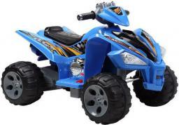 LEANToys Quad na akumulator Duże Koła Niebieski