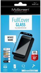 MyScreen Protector FullCover Szkło Huawei P8 Lite Czarny (PROGLAFULCHUP8L7C)