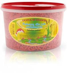PROVEN Pokarm pałeczki Koi czerwone kubełek 3L