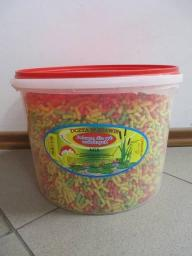 PROVEN Pokarm pałeczki Koi mix kubełek 10L