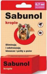 SABUNOL KROPLE - 0,7 ml