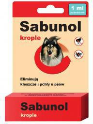 SABUNOL KROPLE - 1 ml