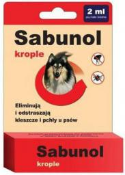 SABUNOL KROPLE - 2 ml