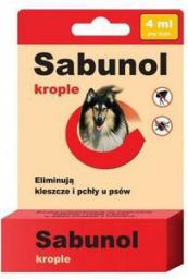 SABUNOL KROPLE - 4 ml