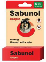 SABUNOL KROPLE - 6 ml