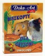 Dako-Art BISZKOPTY GRYZOŃ OWOC