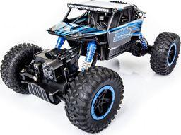 Ikonka Samochód RC Rock Crawler 1:18 4WD niebieski