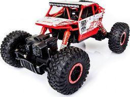 Ikonka Samochód RC Rock Crawler 1:18 4WD czerwony
