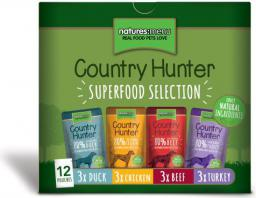 NATURES MENU  	 Country Hunter PAKIET 12x150g