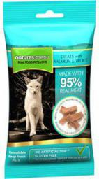 NATURES MENU   Menu przysmak dla kota łosoś pstrąg 60g