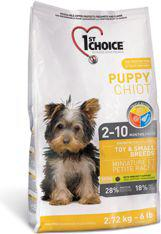 1ST CHOICE Puppy Toy&Small - 2.72kg