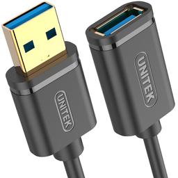 Kabel USB Unitek przedłużacz USB 3.0 AM-AF 1m Y-C457GBK