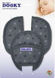 Xplorys Uniwersalne nakładki na pasy Dooky Universal Pads - Grey Stars (T-XP-126922)