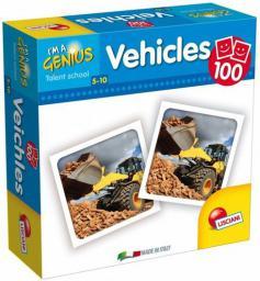 Lisciani I'm a Genius Memoria, Vehicles (58969)
