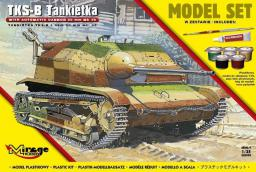 Mirage Tankietka Tks-B z Nkm 20mm wz38 Set (586915)