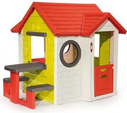 Smoby Domek My House + stolik 810401