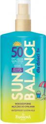 Farmona Sun Balance Wodoodporne mleczko do opalania dla dzieci SPF50 1+ 150ml