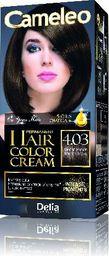 Delia Cosmetics Cameleo HCC Farba permanentna Omega+ nr 4.03  Mocha Brown  1op
