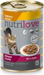 NUTRILOVE Nutrilove puszka Kurczak w galaretce - 400g