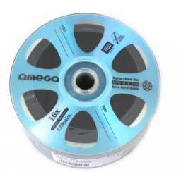Omega Płyta DVD+R,  4.7GB Digital movie edition niebieski, 50 sztuk  (42905)