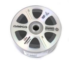 Omega Płyta DVD+R, 4.7GB Digital movie edition srebrny, 50 sztuk (42904)