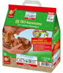 JRS Cats Best Eco Plus 10 L czerwony