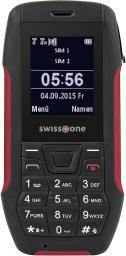 Telefon komórkowy Swisstone SX567 Czarno-czerwony (SX567BR)