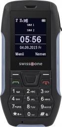 Telefon komórkowy Swisstone SX567 Czarno-szary (SX567BB)