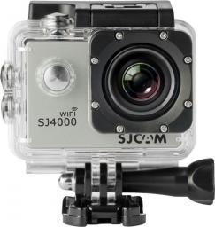 Kamera SJCAM SJ4000 WiFi srebrna