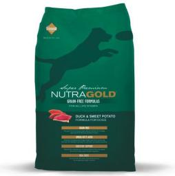 DIAMOND PET FOODS Nutra Gold Grain Free Pies Duck Potato Bezzbożowa 2.25kg