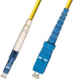 MicroConnect Patchcord światłowodowy, LC/UPC - SC/UPC,   9/125,  LSZH, 2m (FIB461002)