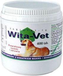 EUROWET WITA-VET Ca/P = 1.3  400 tabletek