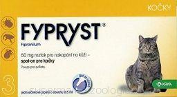 KRKA Fypryst koty 50mg 3szt.