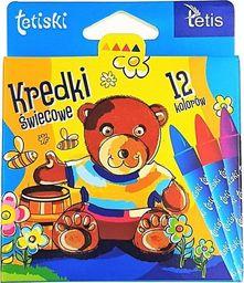 Tetis Kredki tetiski świecowe A'12 - KT015-AB