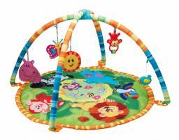 Smily Play Mata Dżungla  edukacja kolory zwierzątka (0827)